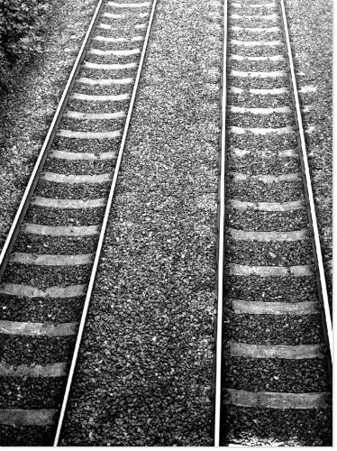 Voies de chemin de fer..